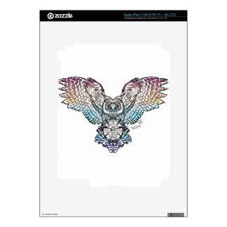 Búho de la serenidad pegatinas skins para iPad 3
