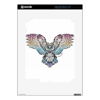 Búho de la serenidad skins para iPad 2