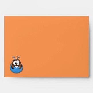 Búho de Pascua - azul