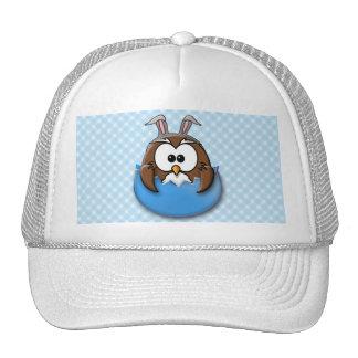 Búho de Pascua - azul Gorras De Camionero