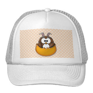 Búho de Pascua - naranja Gorras