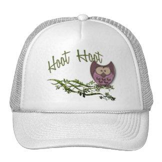 Búho de pitido gorras
