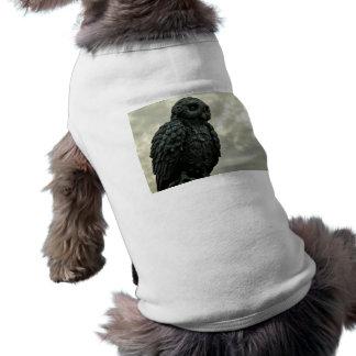 Búho del cielo camisa de mascota