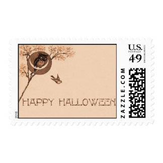 Búho del feliz Halloween Envio