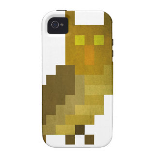 Búho del pixel funda vibe iPhone 4