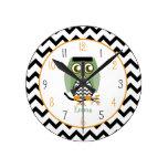 Búho - el reloj personalizado monstruo de Enstein
