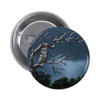 Búho fantasmagórico pins