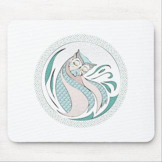 Buho Ilustracion - Owl Illustration Tapete De Ratón