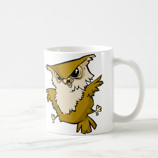 Búho impresionante tazas de café