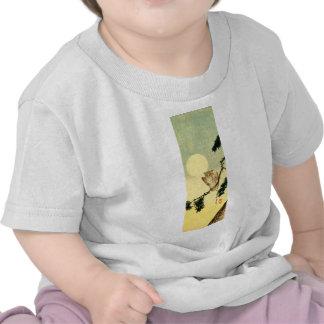 Búho japonés no.1 camisetas