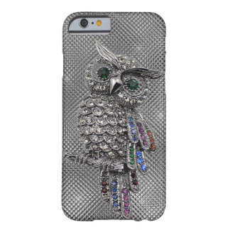 búho lindo bling funda para iPhone 6 barely there