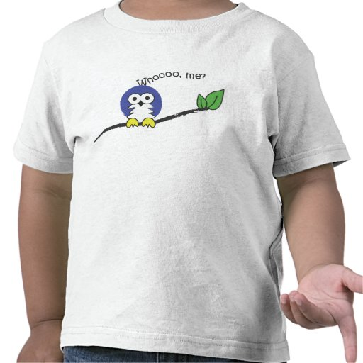 Búho lindo camisetas