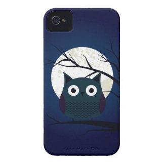 Búho lindo Case-Mate iPhone 4 fundas