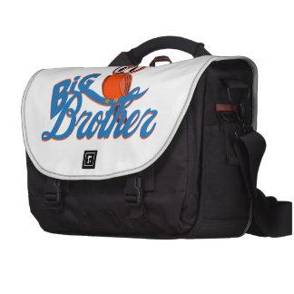Búho lindo hermano mayor bolsas de portatil
