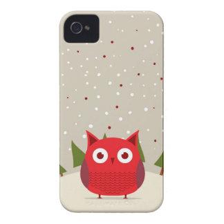 Búho lindo iPhone 4 Case-Mate cárcasas