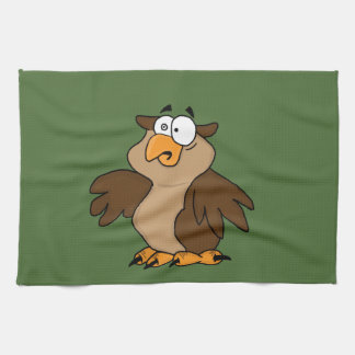 Búho lindo toalla