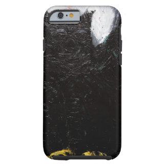 Búho negro (pintura animal del simbolismo) funda para iPhone 6 tough