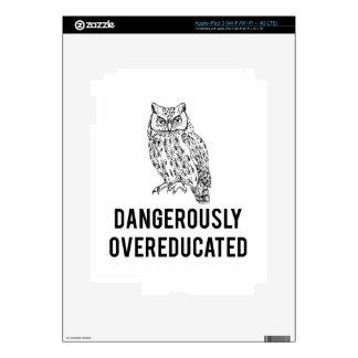 búho, overeducated peligroso iPad 3 skin