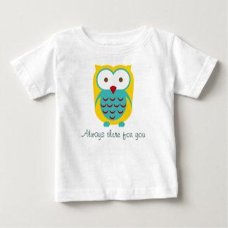 Búho que mira al bebé inspirado Onsies de la ropa T Shirts