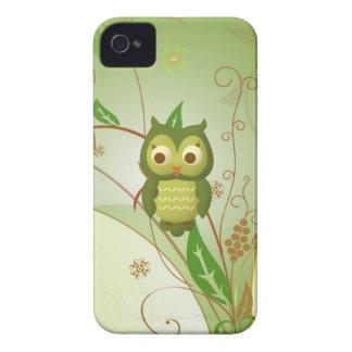 Búho sabio iPhone 4 Case-Mate protectores
