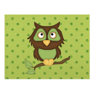 Búho sabio tarjetas postales