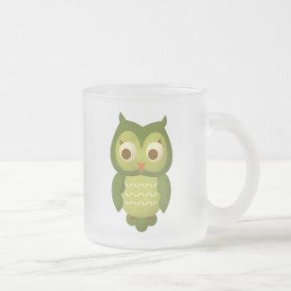 Búho sabio tazas de café