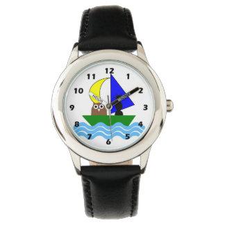 Búho y el minino relojes