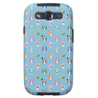Búhos de Eggy - ver ordenado - Galaxy S3 Fundas