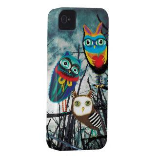 Búhos de Owly del búho de Owlies Carcasa Para iPhone 4