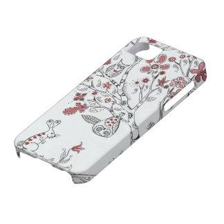 Búhos del amor iPhone 5 carcasas