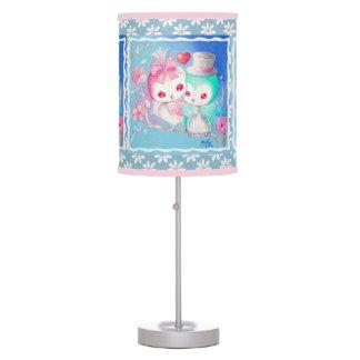 Búhos del amor lámpara de mesilla de noche