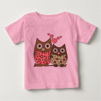 Búhos del amor tshirts
