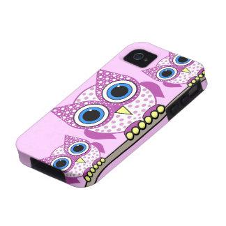 búhos iPhone 4 fundas