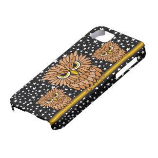 búhos hambrientos enojados lindos funda para iPhone SE/5/5s