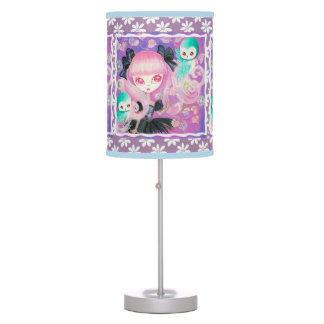 Búhos mágicos lámpara de escritorio