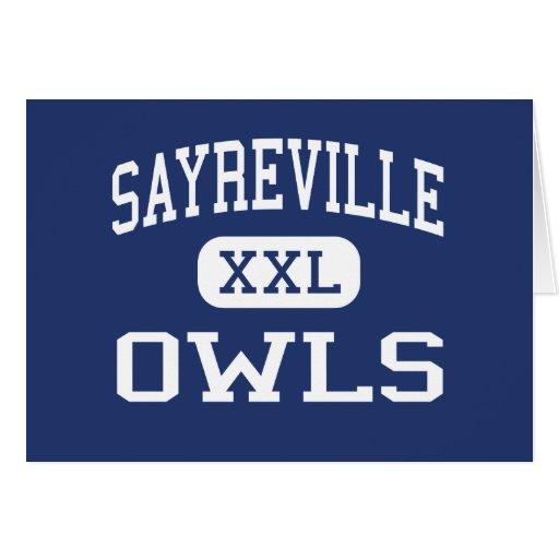Búhos Parlin medio New Jersey de Sayreville Felicitaciones