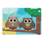 Búhos preciosos iPad mini cárcasa