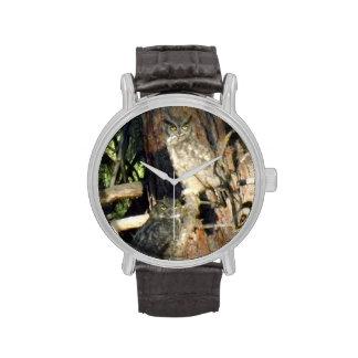 Búhos Relojes