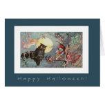 Búhos y hadas asustadizos por Maybank - Halloween Tarjetas