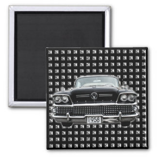 buick1958 2 inch square magnet