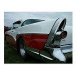 Buick 1957 estupendo postal