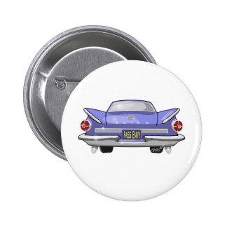 Buick 1960 Electra Pin Redondo De 2 Pulgadas