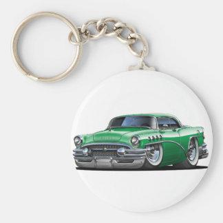 Buick Century Green Car Basic Round Button Keychain