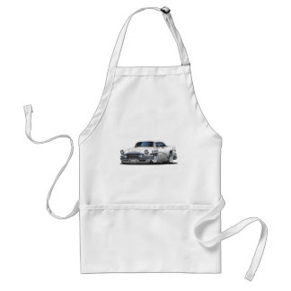 Buick Century White Car Adult Apron