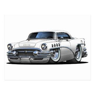 Buick Century White Car Postcard