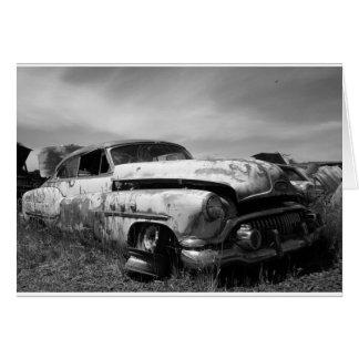 Buick en una tarjeta de felicitación del Junkyard