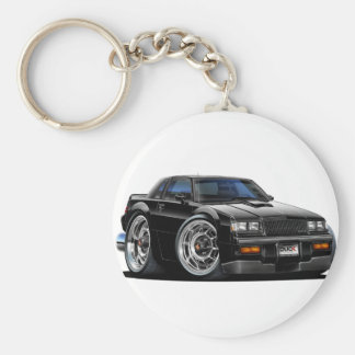 Buick Grand National Basic Round Button Keychain