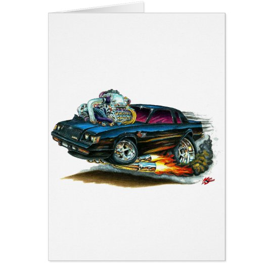 Buick Grand National Card