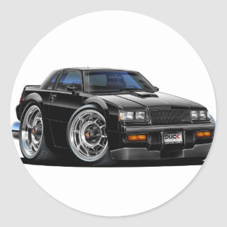 Buick Grand National Classic Round Sticker