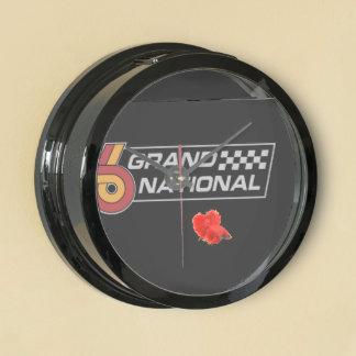 Buick Grand National Logo Fish Clock Aquarium Clocks